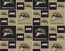 NCAA Western Michigan University Broncos College Logo! [Choose Your Cut Size]