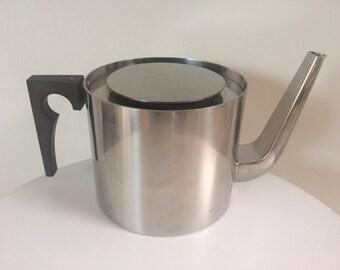 Arne Jacobsen Cylinda Line Teapot For Stelton