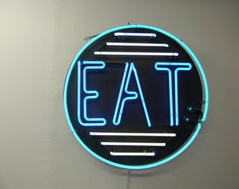Classic Neon Eat Sign