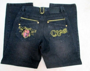 Coogi Jeans, Great design, 34 W 34L, Made in China,