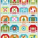 """Ugly Christmas Sweaters Quilt Pattern, PDF, Instant Download, modern patchwork, 6"""" quilt block within 12"""" quilt block, Lap Throw Twin quilt"""