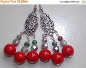 CLEARANCE 30%OFF Christmas Chandelier Earrings