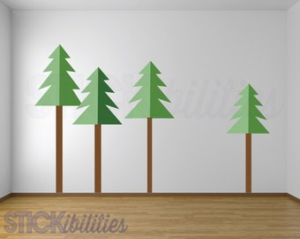 Attrayant Forest Wall Decals,Woodland Theme Wall Decals