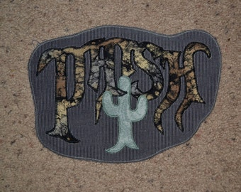 Phish cactus patch on corduroy