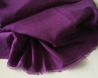 Purple Modal Cashmere Wrap