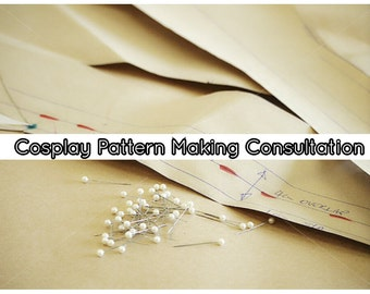 Cosplay Pattern Making Consultation