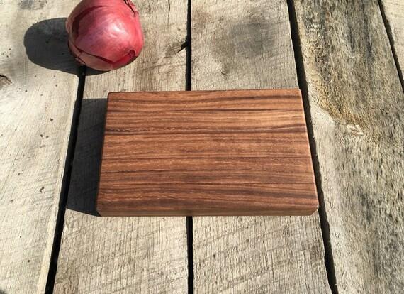 Walnut Wood Cutting Board -- Small