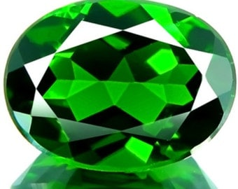 1.22ct VS Natural Unheated Best Quality 5A Green Chrome Diopside Stunning Russian Gem