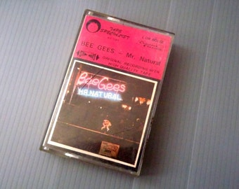 Vintage Cassettes BEE GEES-Mr Natural