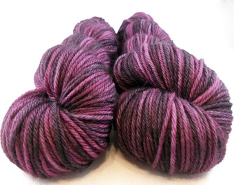 Delicia XII - Hand Dyed Superwash Merino Worsted Yarn