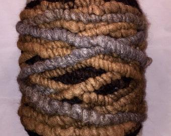 Alpaca Rug Yarn - Natural Variegated Colors - 100 Yards