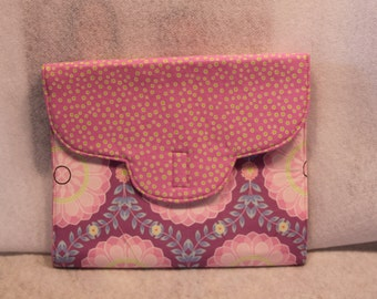 Pink and Purple iPad Cover