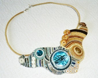 SEYCHELLES - Beadweaving necklace