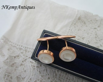 Mother of pearl cufflinks 1920's