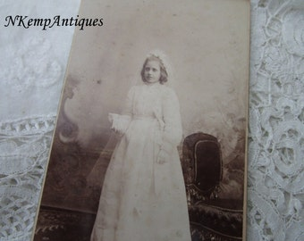 Antique religious photograph