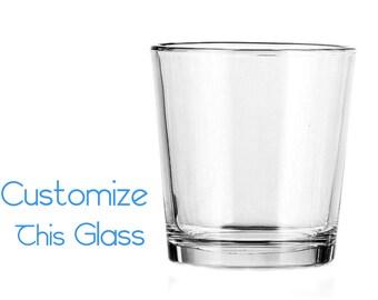 Customizable Drinking Glass