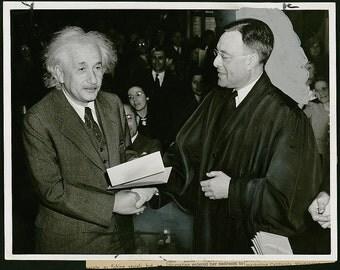 Albert Einstein, 1940,  Photo Print