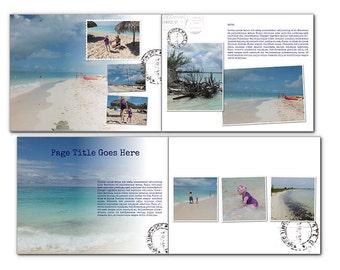 Travel Album Photo-book Templates