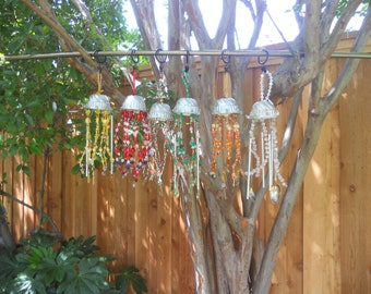 Jell-O Mold Wind Chimes
