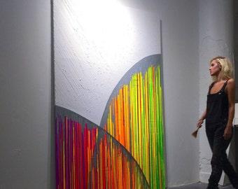 Drip painting | Etsy