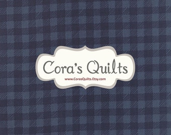 Gingham in Stormy from Tucker Prairie by One Canoe Two - Moda Fabrics - (36007-11)
