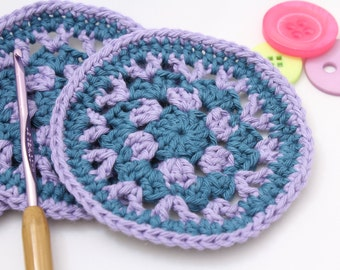Crochet coaster, set of 4, drinks coaster, coaster set, drink mat, coaster, cotton coaster, mug rug, home decor, housewarming gift, new home
