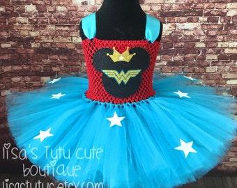 Wonder woman tutu, wonder woman dress, minnie mouse tutu, minnie mouse dress, wonder woman costume, minnie mouse costume