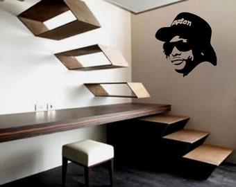 Vinyl Wall Decal for home decor Eazy E