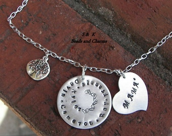 Custom personalized,Hand Stamped Jewelry ,Personalized Necklace,Personalized Mom Necklace, Hand Stamped Necklace,handstamped jewelry,