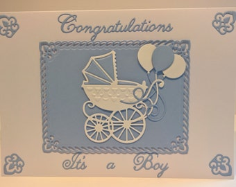 Congratulations It's A Boy/ Girl Card