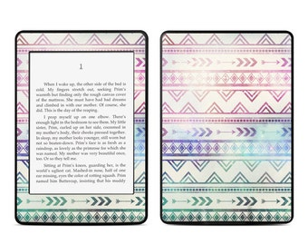 Amazon Kindle Skin - Bohemian by Brooke Boothe - Sticker Decal - Fits Paperwhite, Fire, Voyage, Touch, Oasis