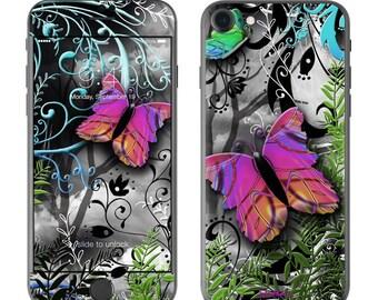 Goth Forest by Juleez - iPhone 7/7 Plus Skin - Sticker Decal