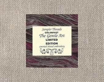 The Gentle Art - Limited Edition Floss - Cotton - Volcanic Ash - Five Yards - By the Skein