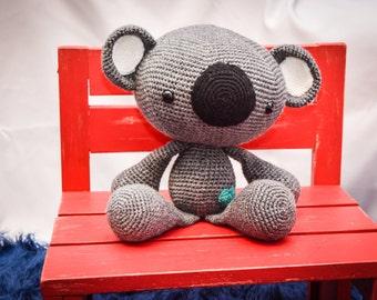 Big Koala Crocheted Stuffed Animal/Toy (Made to Order)