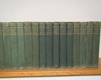1902 set of 15 LOUISE MUHLBACH books ; volumes 1-8, 10-13 & 16-18
