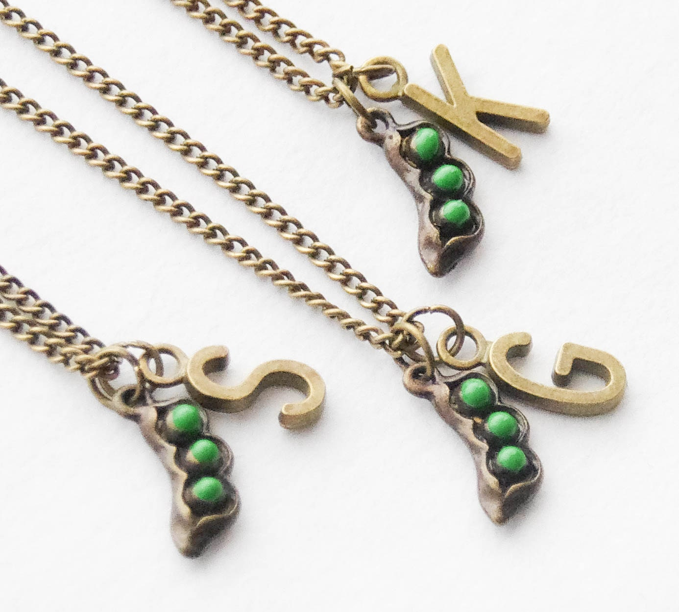 best friend jewelry for 3 best friend necklaces 3 peas in a pod necklaces three 9645