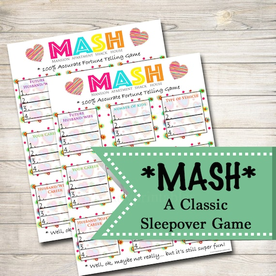 Spin The Bottle Nail Polish Game Gotr Girlsontherun: Printable Mash Game Girls Party Game Spa Party Beauty Party