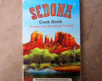 Sedona Cook Book, Sedona Arizona Cookbook, 1994 Arizona Cookbook