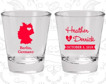 Germany Shot Glass, Germany Shot Glasses, Germany Glass, Germany Glasses, Germany Glassware (176)