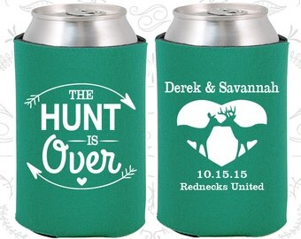Teal Wedding, Can Coolers, Teal Wedding Favors, Teal Wedding Gift, Teal Party Favors (520)