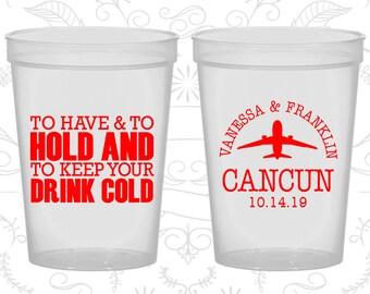 Natural Stadium Cups, Natural Cups, Natural Plastic Cups, Natural Party Cups, Natural Wedding Cups (08)