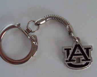 Auburn Charm Keychain