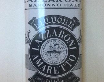 D Lazzaroni and C Saronno Italy Amaretto Liquore Tin