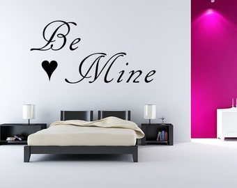 Mine Wall Decal Etsy - Custom vinyl wall decals saying