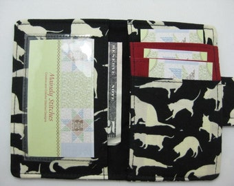 Cat Mini Wallet,  Credit Card Wallet , Pocket  Wallet