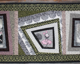 Ghastlies Fabric Table Runner or Bureau Scarf