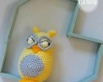 Crochet Owl Amigurumi / Stuffed Animal Owl