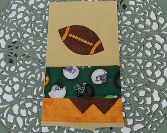 Applique kitchen towel