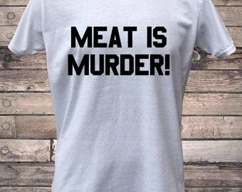 Meat Is Murder Vegetarian Vegan T-Shirt