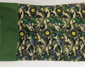 Camo John Deere Standard Pillowcase